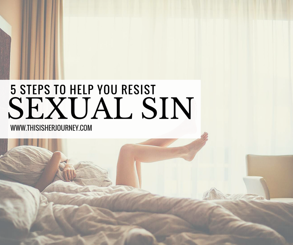 resisting sexual sin